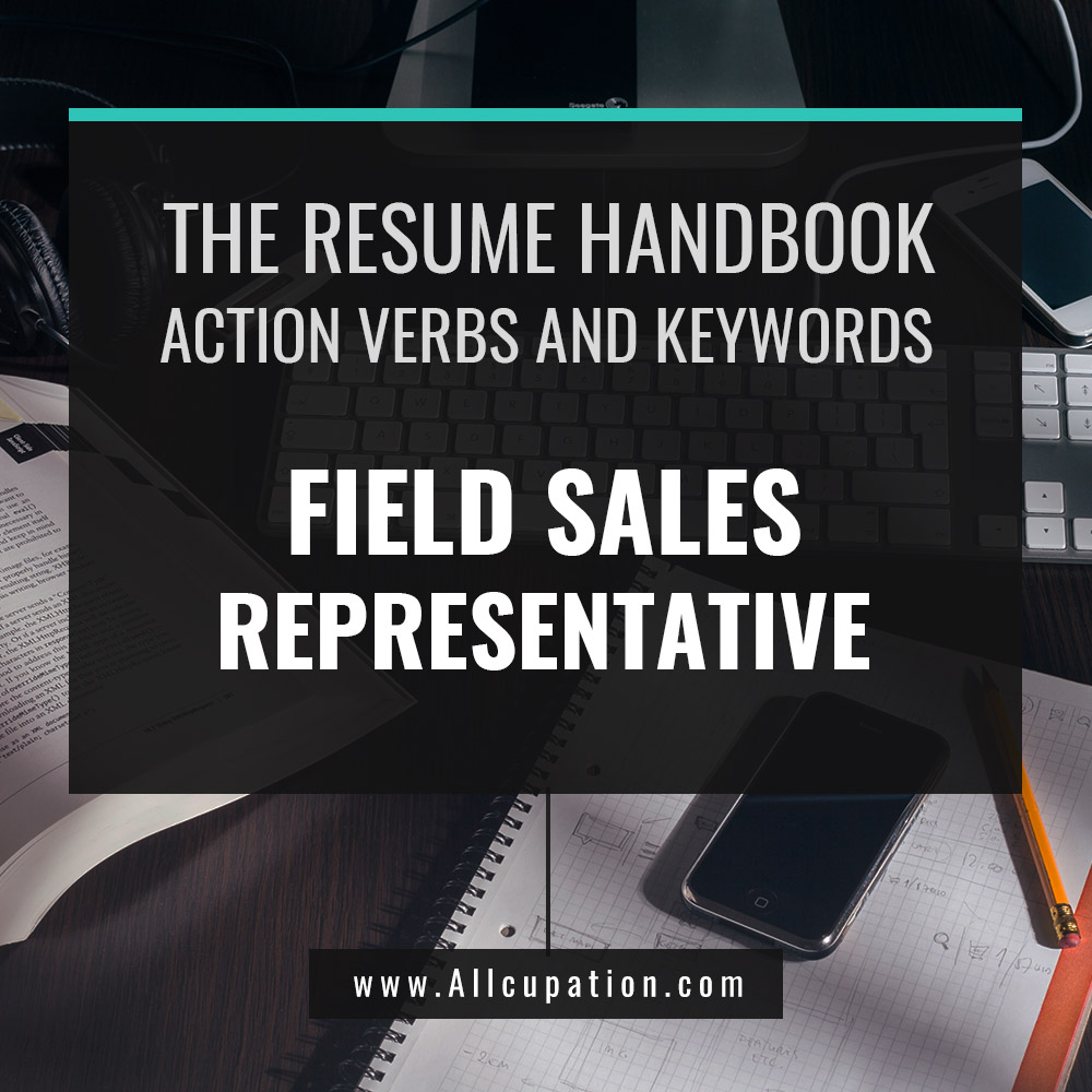 The Resume Handbook Field Sales Representative Resume Samples With