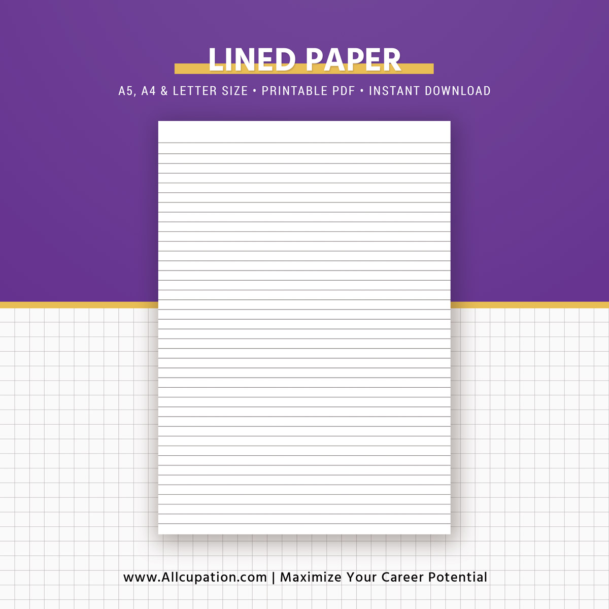 basic pages inserts 2019  dot grid  square grid  lined