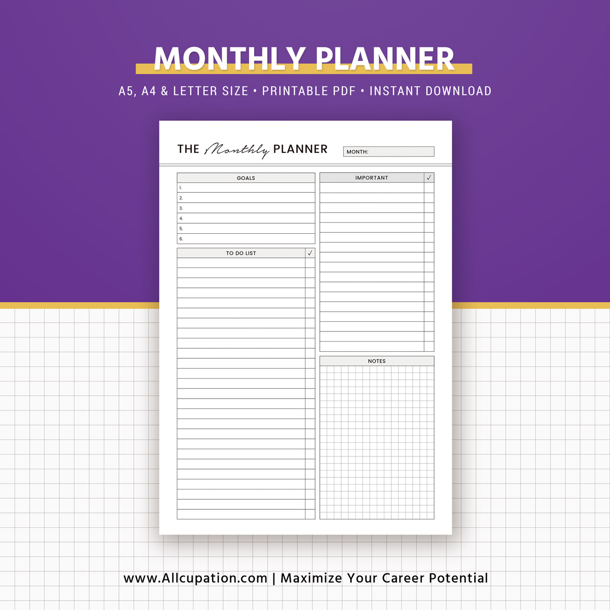 Free Printable Planner Inserts for Franklin Covey/Filofax ...