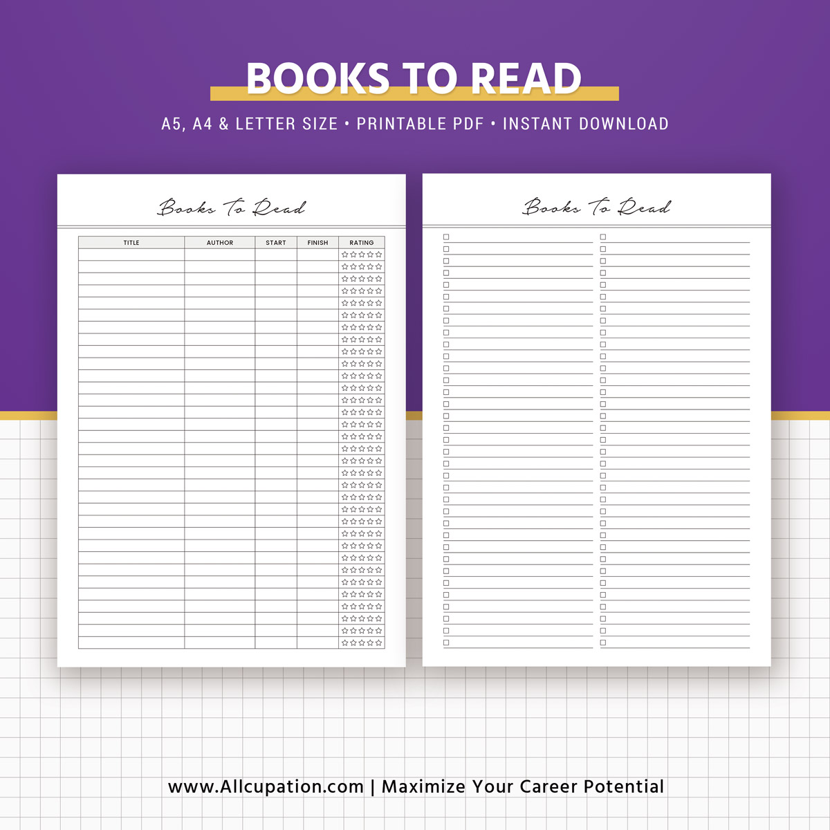 Reading Journal, Books To Read, Reading Log, Book Review
