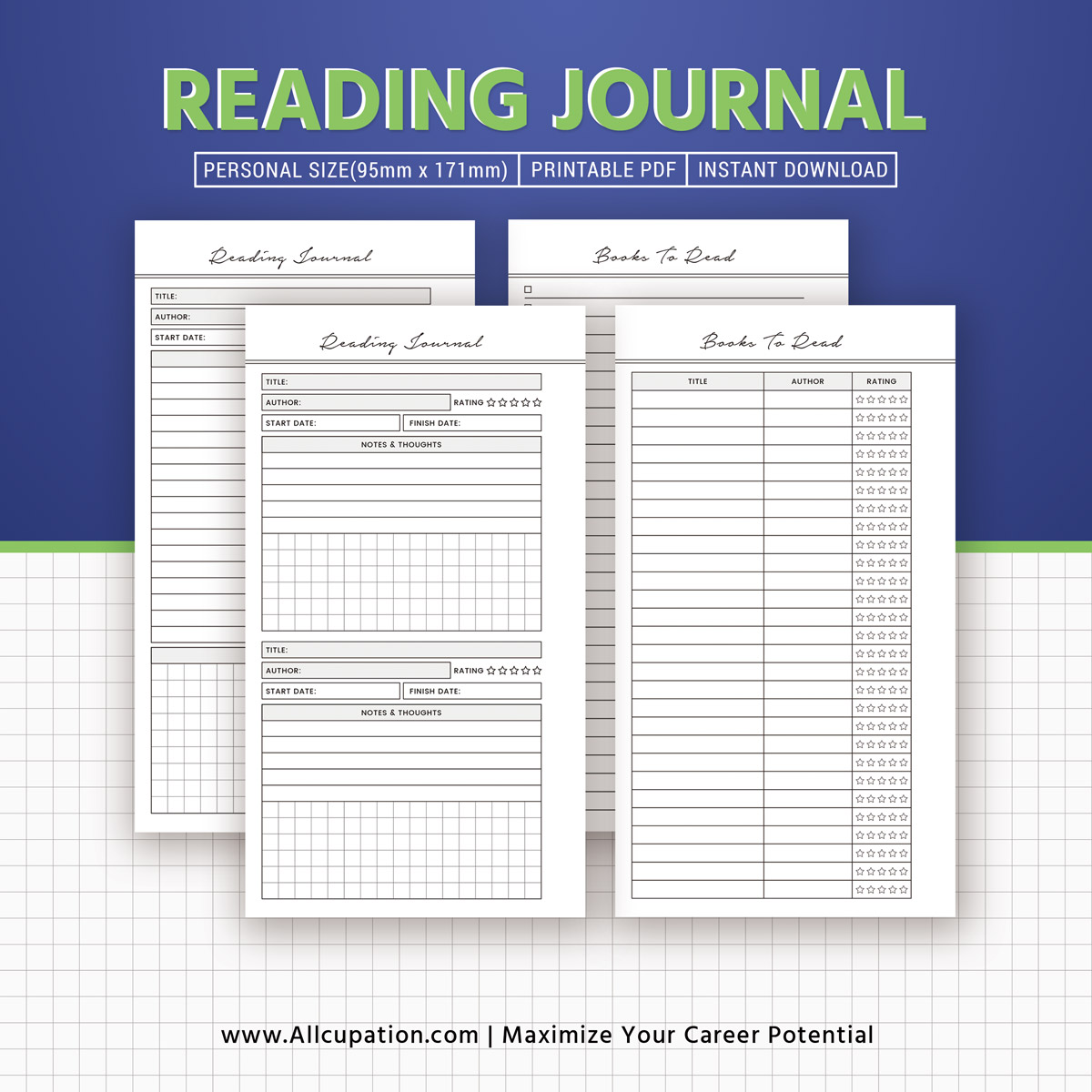 graphic about Reading Journal Printable identified as Looking through Magazine 2019, Guides In the direction of Read through, Studying Listing, Guide Examine, Printable Individual Sizing, Planner Style and design, Least complicated Planner, Filofax Particular person, Fast