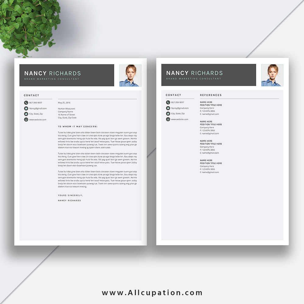 word templates cover page