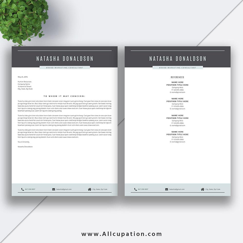 2020 professional resume template  creative cv template