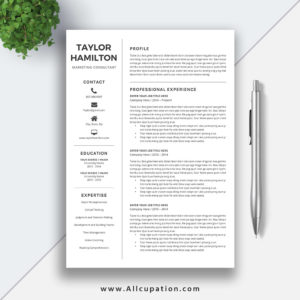 resume templates product categories allcupation optimized