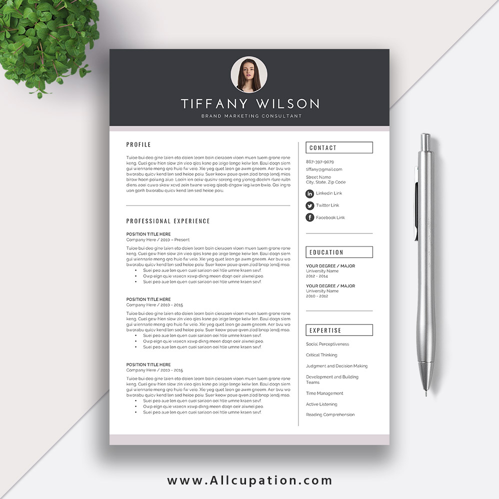 cool resume templates for mac creative resume template cover letter word modern 20967