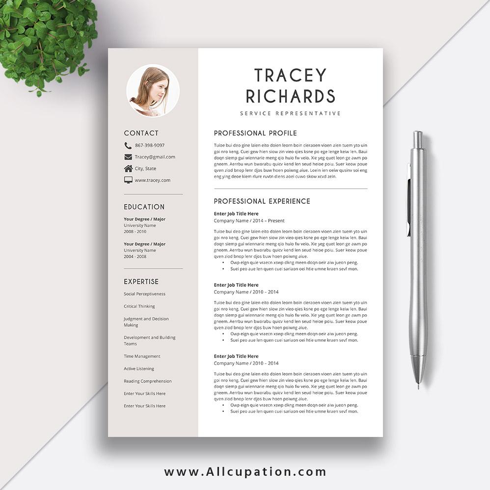 Modern And Creative Resume Template Cv Sample Best Resume Design