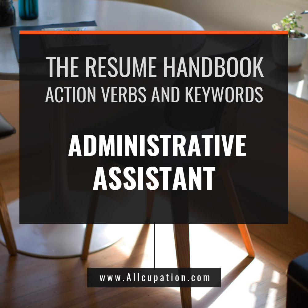 be a process person administrative assistant resume keywords and