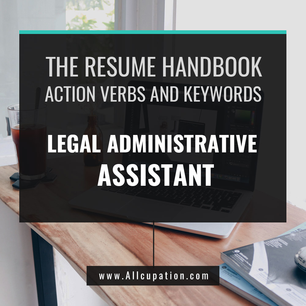 Attention to Detail: Legal Administrative Assistant Resume Keywords ...